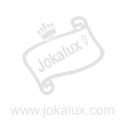 Gorilla Bokito wit bruin polyester beeld